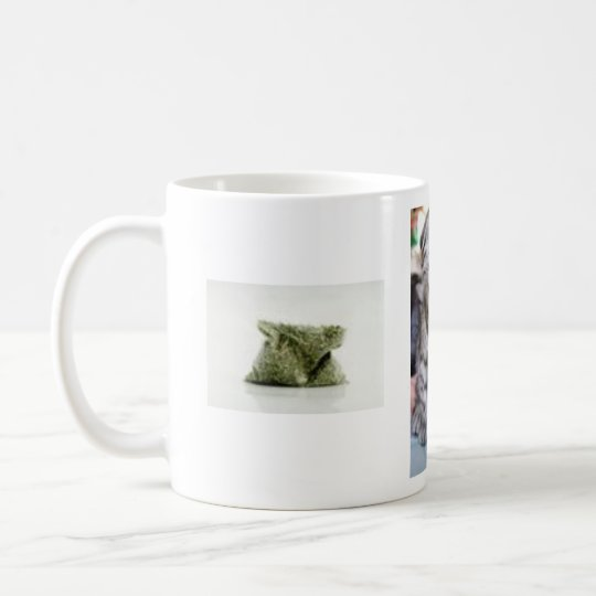 funny_cat, 11881774300S4ZL7, if YOU don't talk ... Coffee Mug