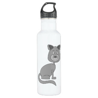 Funny Cat. 710 Ml Water Bottle