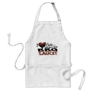 Funny Cat BBQ Standard Apron