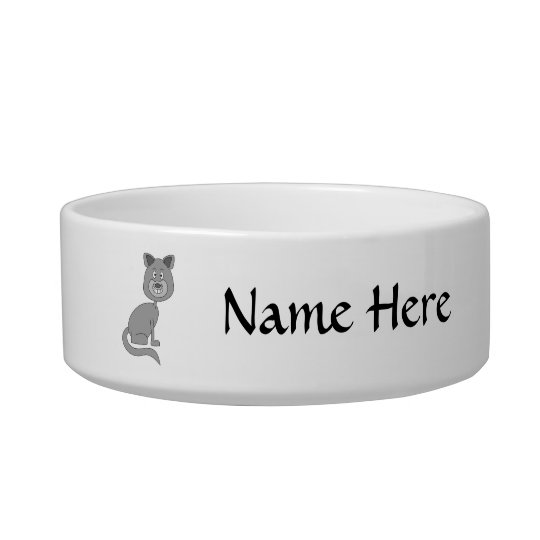 Funny Cat. Bowl