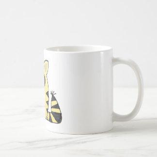 Funny Cat cry Basic White Mug