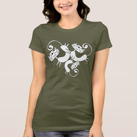 Funny Cat Dance T-Shirt 13