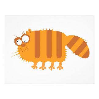 Funny Cat Flyer Design