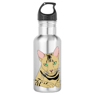 Funny Cat Graphics  Water Bottle
