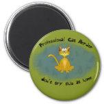 Funny Cat Herder Magnet