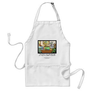 Funny Cat & Lawyer Funny Apron Aprons