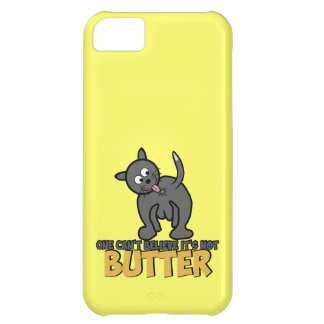 Funny cat licking its bumhole iPhone 5C case