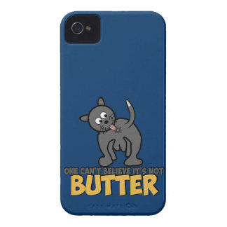 Funny cat licking its butt iPhone 4 Case-Mate case