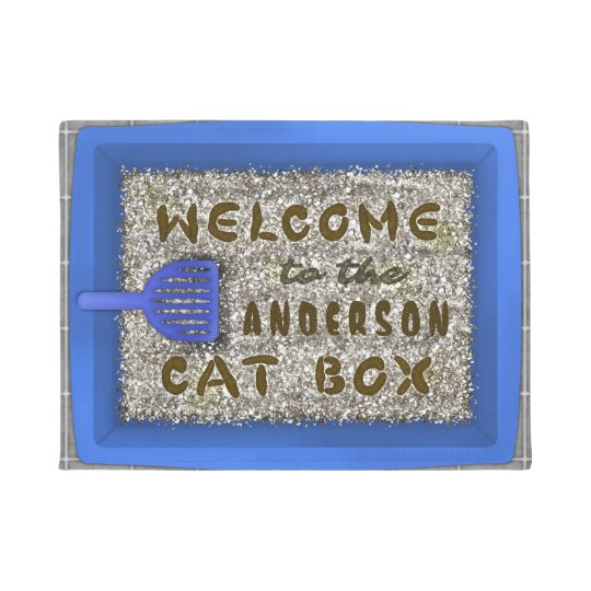 Funny Cat Litter Box Poop | Family Name