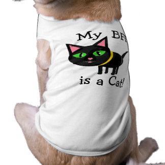 Funny Cat Loving Puppy Dog Shirt