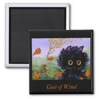 Funny Cat Magnet Mouse Creationarts Lisa R Adams