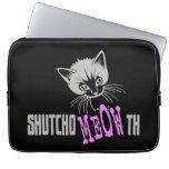 Funny Cat Shut Your MEOWth (dark)