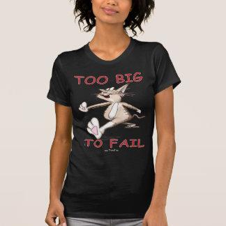 Funny Cat Too Big To Fail T Shirt
