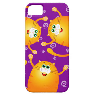 Funny cats, iPhone 5 case