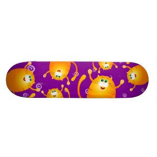 Funny cats, skate skate board