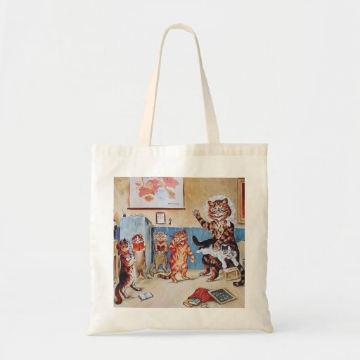 Funny Cats:  The Naughty Puss by Louis Wain Bag