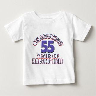 Funny Celebrating 55 years of raising hell Tee Shirts