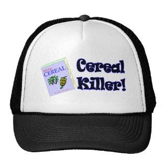Funny Cereal Killer T-shirts Gifts Cap