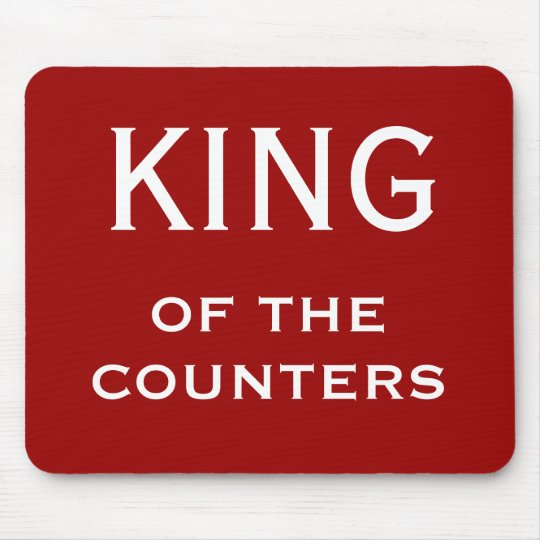 Funny CFO Nickname - King of the Counters