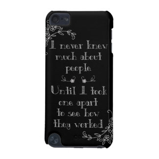Funny Chalkboard Art Phone Case iPod Touch (5th Generation) Case