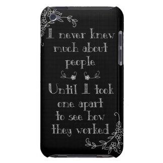 Funny Chalkboard Art Phone Case