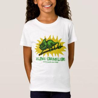 Funny chameleon baby t-shirt design