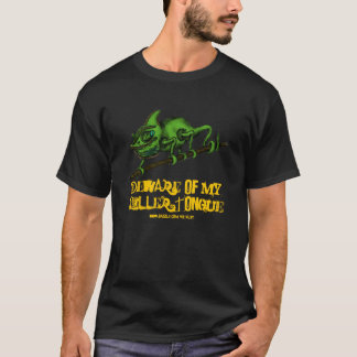Funny chameleon t-shirt