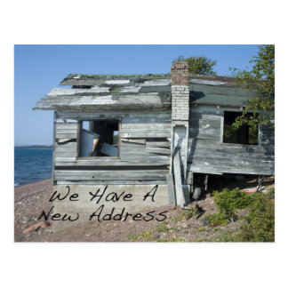 Funny Change of Address Card Seaside Home