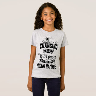 Funny Changing the Toilet Paper Joke Jersey Shirt