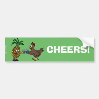 Funny Cheers Bumper Sticker