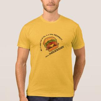 Funny Cheeseburger Tee Shirts