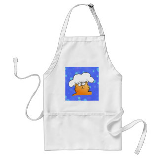 Funny Chef | Funny kitty Chef Standard Apron