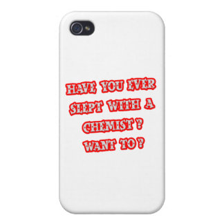 Funny Chemist Pick-Up Line iPhone 4/4S Cover