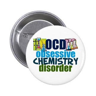 Funny Chemistry 6 Cm Round Badge