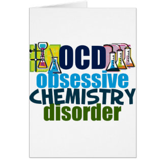 Funny Chemistry Cards