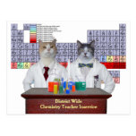 Funny Chemistry Cats