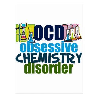 Funny Chemistry Postcard