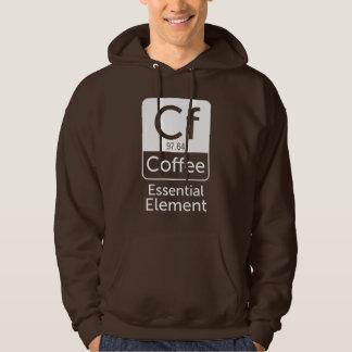 Funny Chemistry Pun Joke coffee essential element Hoodie