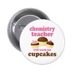Funny Chemistry Teacher Button