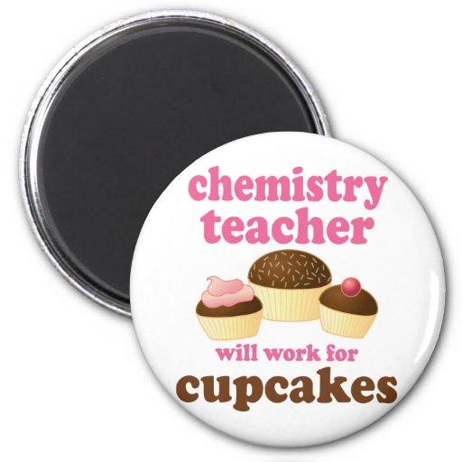 Funny Chemistry Teacher Fridge Magnets