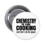 Funny Chemistry Teacher Quote 6 Cm Round Badge