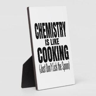 Funny Chemistry Teacher Quote Plaque