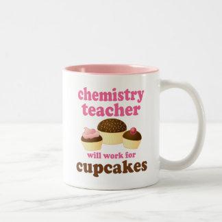 Funny Chemistry Teacher Two-Tone Coffee Mug