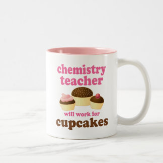 Funny Chemistry Teacher Two-Tone Mug