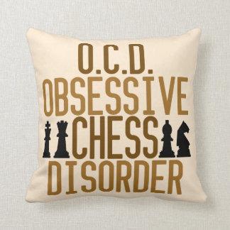 Funny Chess Tan Cushion