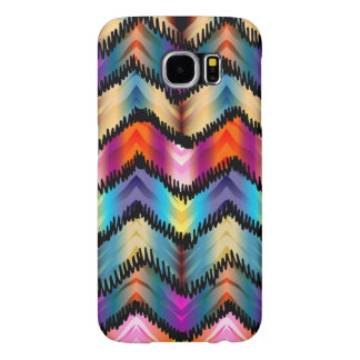Funny Chevron Pattern Samsung Galaxy S6 Cases