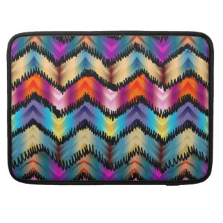 Funny Chevron Pattern Sleeve For MacBooks