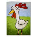 Funny Chicken Card