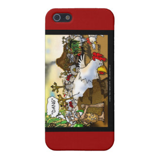 Funny Chicken (Chickasaurus) Mugs Cards Etc Case For iPhone 5/5S