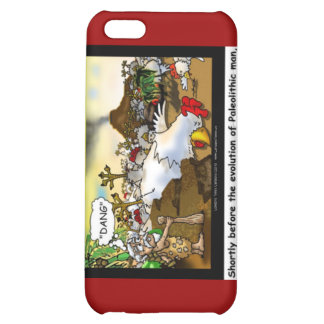 Funny Chicken (Chickasaurus) Mugs Cards Etc Case For iPhone 5C